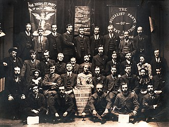 Socialist Party of Great Britain - Delegates to the First Annual Conference of the Socialist Party of Great Britain, 1905.