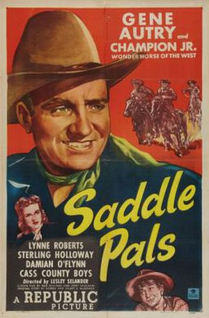 Saddle Pals (film) - Theatrical release poster