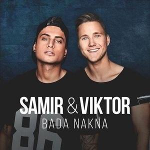 Bada nakna - Image: Samir och Viktor Bada nakna