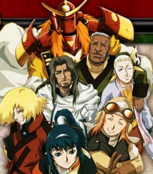 Samurai 7 - The seven recruited samurai.