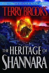 The Heritage of Shannara book cover