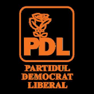 Democratic Liberal Party (Romania) - Image: Sigla pdl