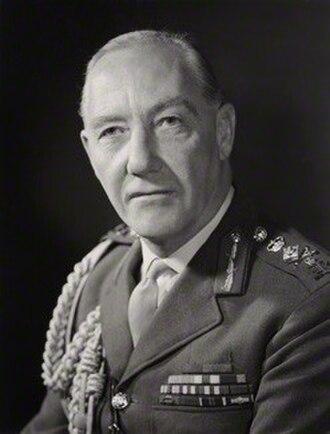 Geoffrey Baker - Field Marshal Sir Geoffrey Baker