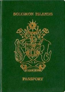 Solomon Islands passport