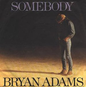 Somebody (Bryan Adams song) - Image: Somebodysingle