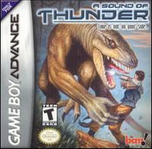 A Sound of Thunder (video game) - Image: Soundof Thunder GBA