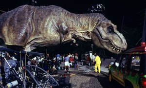 Animatronics - Tyrannosaurus animatronic, the largest animatronic, used for Jurassic Park