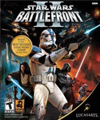 Star Wars: Battlefront II (2005 video game) - Image: Star Wars Battlefront 2 PC