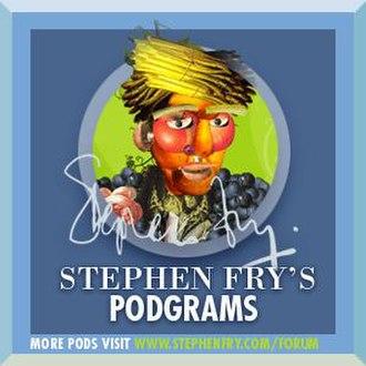 Stephen Fry's Podgrams - Image: Stephen Fry's Podgrams