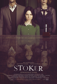 <i>Stoker</i> (film) 2013 film by Park Chan-wook