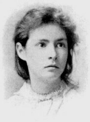 Susy Clemens - Clemens as a young teenager, ca. 1885