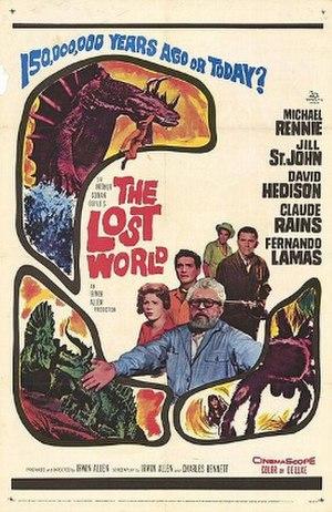 The Lost World (1960 film) - Original 1960 theatrical poster