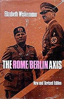 <i>The Rome-Berlin Axis</i> book by Elizabeth Wiskemann