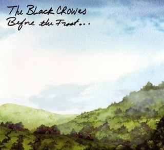 <i>Before the Frost...Until the Freeze</i> 2009 studio album by The Black Crowes