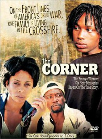 The Corner - The Corner DVD cover