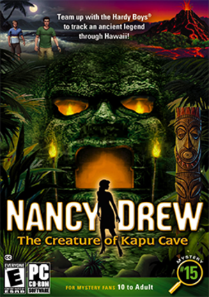 Nancy Drew: The Creature of Kapu Cave - Image: The Creature of Kapu Cave Coverart
