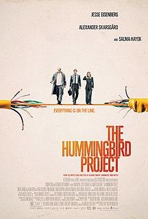 <i>The Hummingbird Project</i> 2018 film
