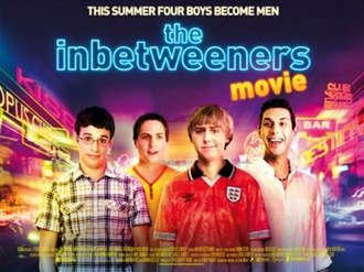 The Inbetweeners Movie - Theatrical release poster