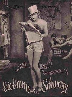 <i>The Lady in Black</i> (1928 film) 1928 film