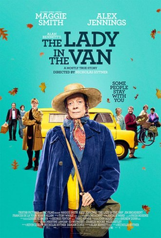 The Lady in the Van - Theatrical release poster