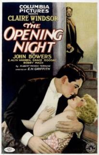 <i>The Opening Night</i> 1927 film
