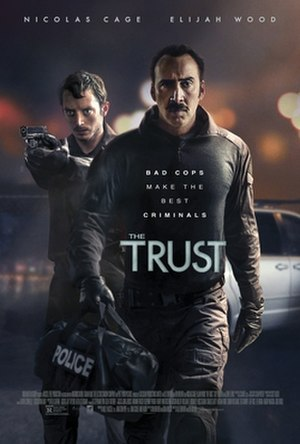 The Trust (film) - Theatrical release poster