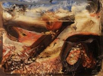 Kenneth Callahan - The Valley, 1961, Kenneth Callahan.