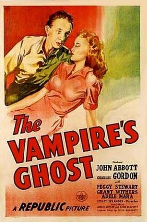 The Vampire's Ghost - Theatrical release poster