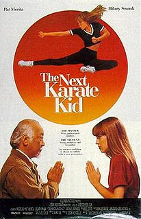 <i>The Next Karate Kid</i> 1994 American martial arts drama film by Christopher Cain