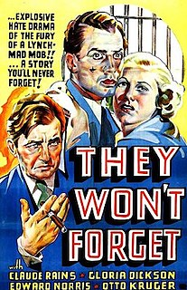<i>They Wont Forget</i> 1937 film