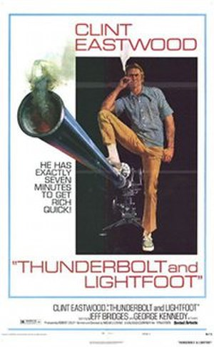 Thunderbolt and Lightfoot - Image: Thunderbolt and Lightfoot movie poster