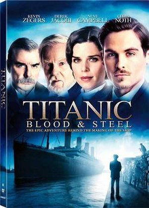 Titanic: Blood and Steel - Region 1 DVD cover