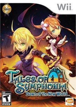 Image result for tales of symphonia dawn of the new world