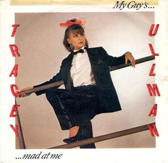 My Girl (Madness song) - Image: Tracey Ullman My Guy's Mad at Me single cover