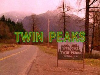 Twin Peaks - Image: Twin Peaks openingshotcredits