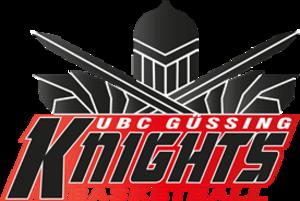 UBC Güssing Knights - Image: UBC Güssing Knights logo