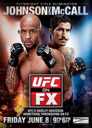 2012 in UFC - Image: UFC on FX Johnson vs. Mc Call