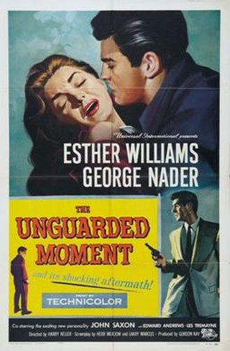 The Unguarded Moment (film) - Theatrical release poster