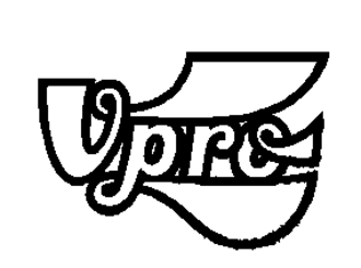 VPRO - The VPRO logo from 1971 to 1981