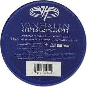 Amsterdam (Van Halen song) - Image: Van Halen Amsterdam