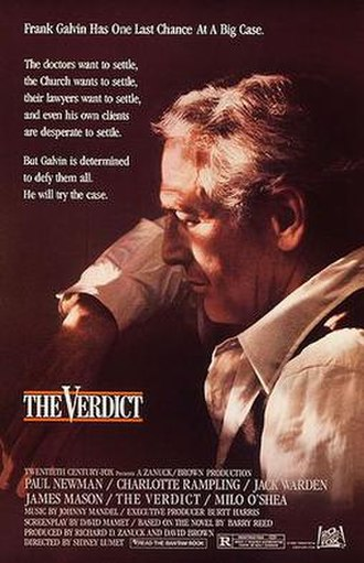 The Verdict - Theatrical release poster