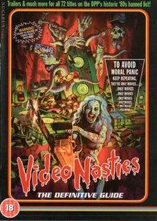 <i>Video Nasties: Moral Panic, Censorship & Videotape</i> 2010 film by Jake West
