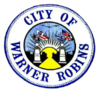 Official seal of Warner Robins, Georgia, Macon CSA