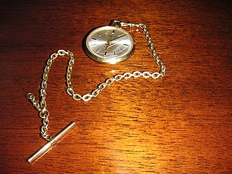 Westclox - A Westclox seventeen-jewel pocketwatch.