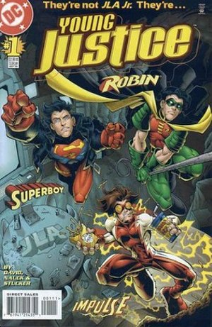 Young Justice - Image: Young Justice vol 1 1