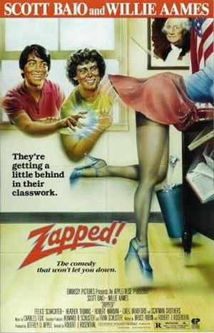 Zapped! - Theatrical release poster