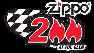 Zippo 200 at The Glen - Image: Zippo 200 at The Glen logo