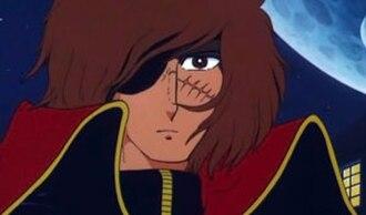 Captain Harlock - Harlock, as he appears in the Galaxy Express 999 film