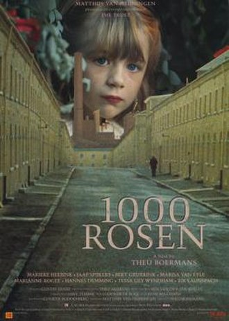 1000 Roses - Dutch Film Poster