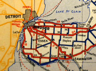 Ontario Highway 18A - Image: 18A map